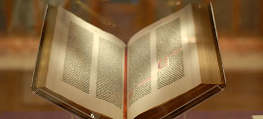 gutenbergova biblija