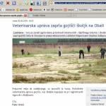 Veterinarska uprava zaprla gojišči školjk na Obali