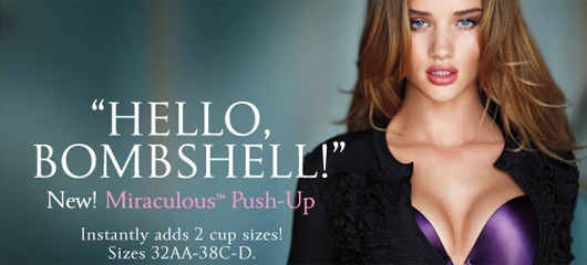 Miraculous Push-Up modrcki - Victorias Secret