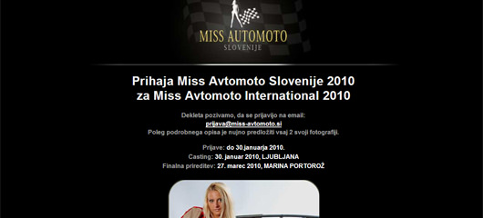 Miss Avtomoto Slovenije 2010