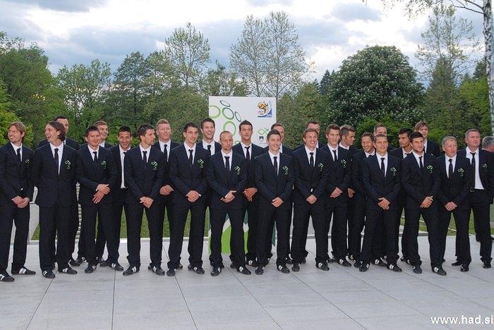 Slovenska nogometna reprezentanca Brdo 14