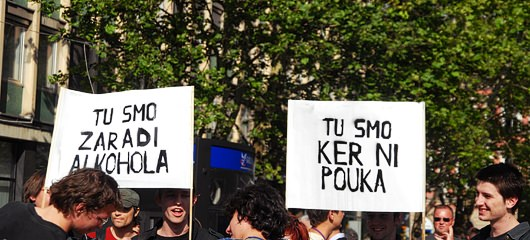 studentske demonstracije