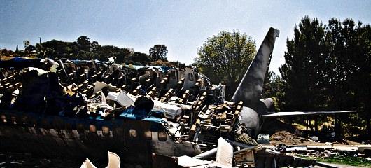 fotografije letalske nesrece