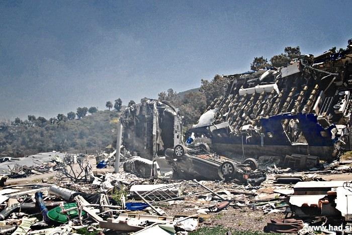 Fotografije letalske nesrece 04
