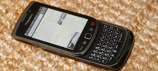 blackberry torch fotografije
