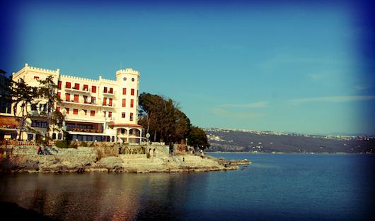 opatija vile in hoteli fotografije