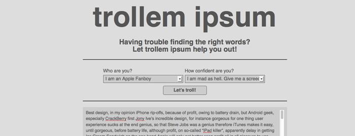 trollemipsum