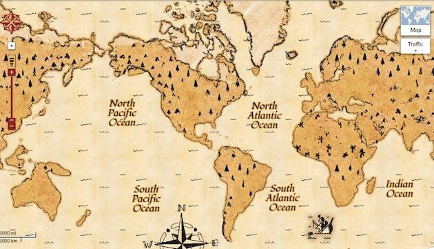 google_map_treasure_mode