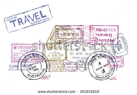 stock-vector-vector-passport-stamps-in-the-form-of-a-car-travel-theme-background-161915819