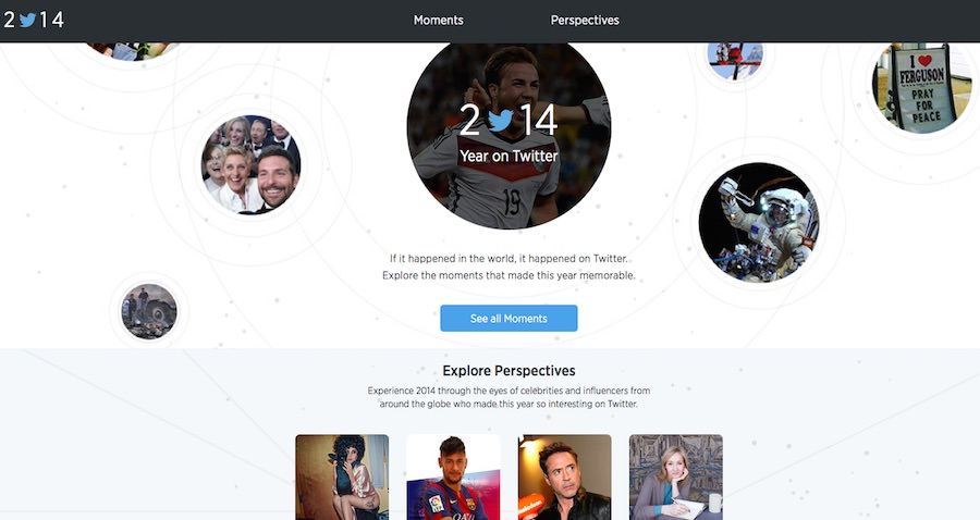2014 in review – Facebook, Tumblr, YouTube, Twitter
