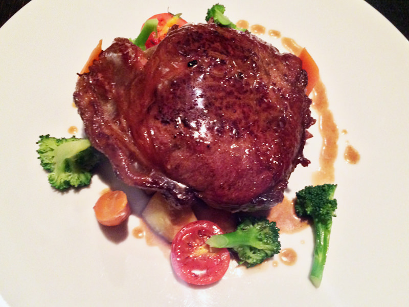 Restavracija Cubo in njihov steak