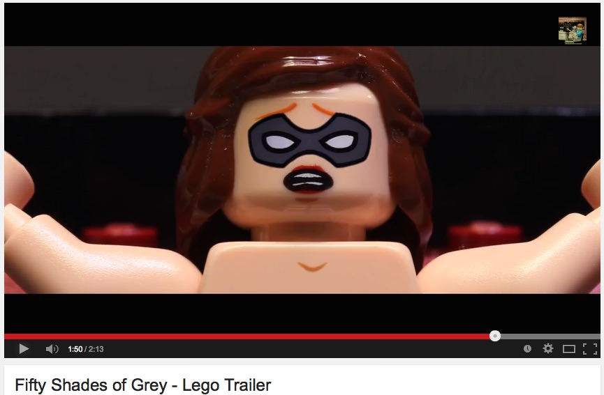 Fifty Shades of Grey - Lego Trailer