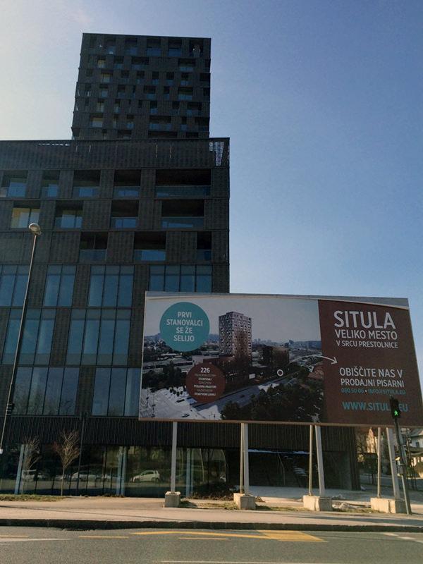 Situla Ljubljana - prvi stanovalci se že selijo