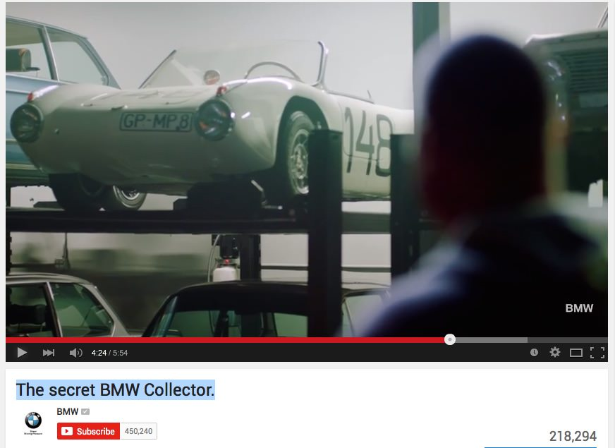 The secret BMW Collector - ali je res lastnik skrivnost?