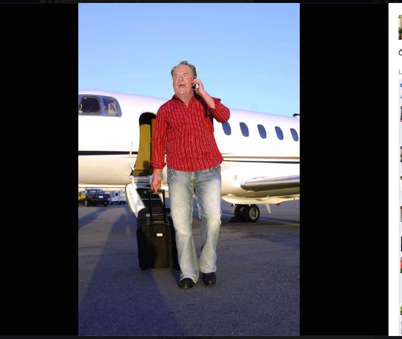 Ivan Zidar čudežno ozdravel / Facebook photoshop prihoda iz dopusta v Švici