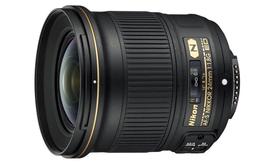 Nikon objektiv / AF-S Nikkor 24 mm f/1.8G ED