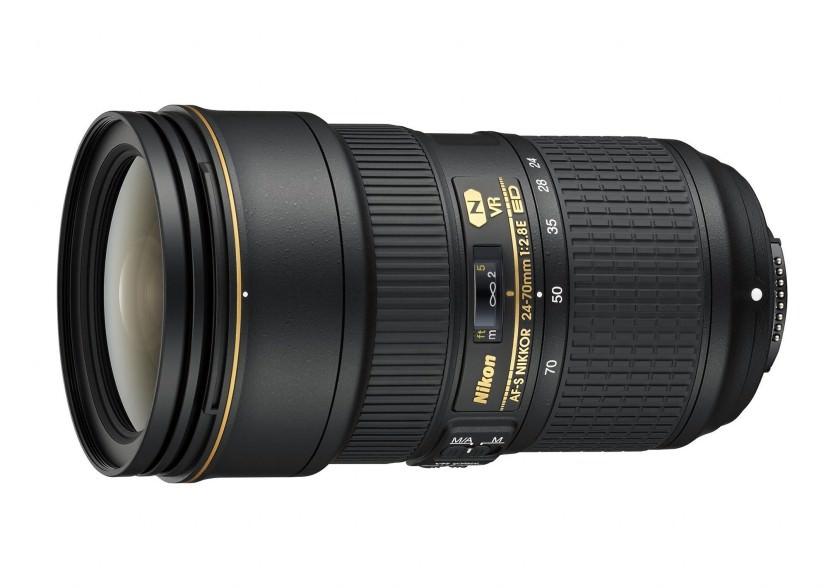 Nikon objektiv / AF-S Nikkor 24-70mm f/2.8E ED VR
