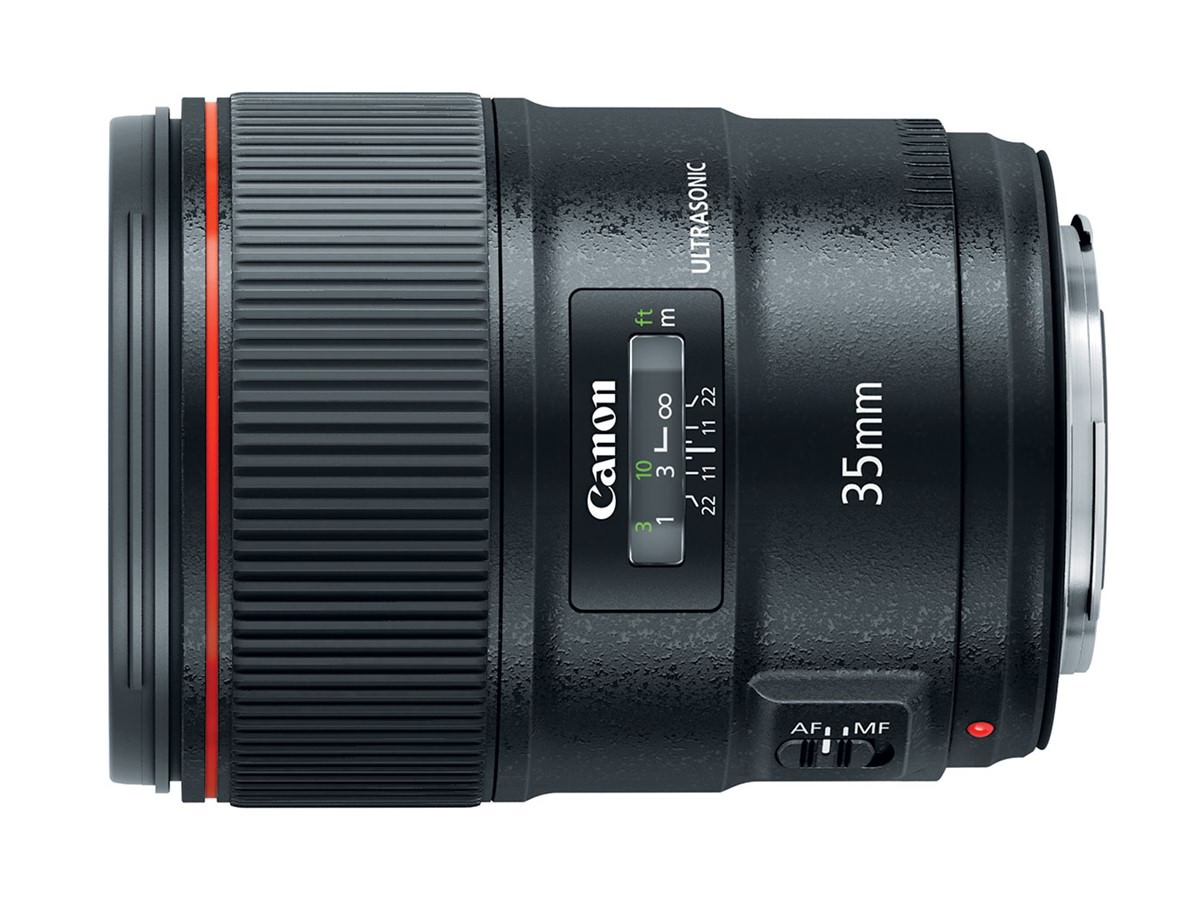 Objektiv Canon EF 35mm f/1.4L II USM / fotografije in specifike