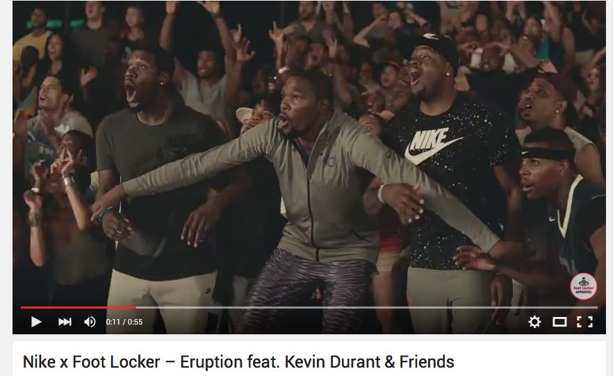 Nike & Foot Locker – Eruption feat. Kevin Durant & Friends