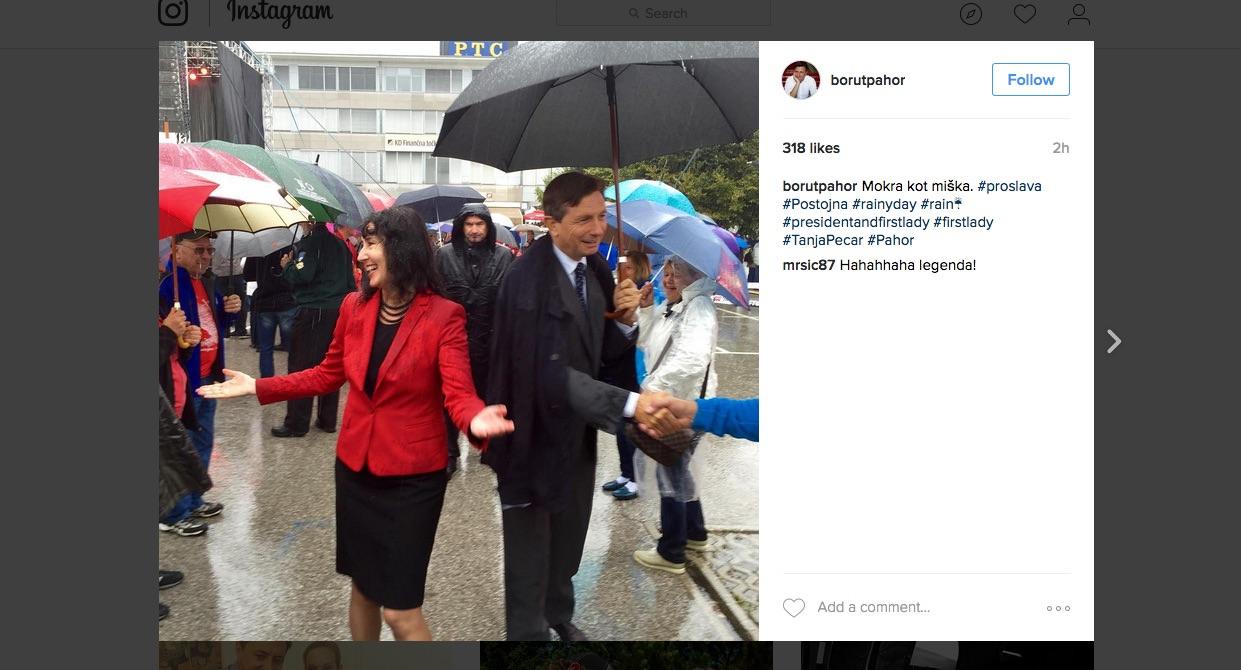 Borut Pahor / kaj pa kavalirstvo?