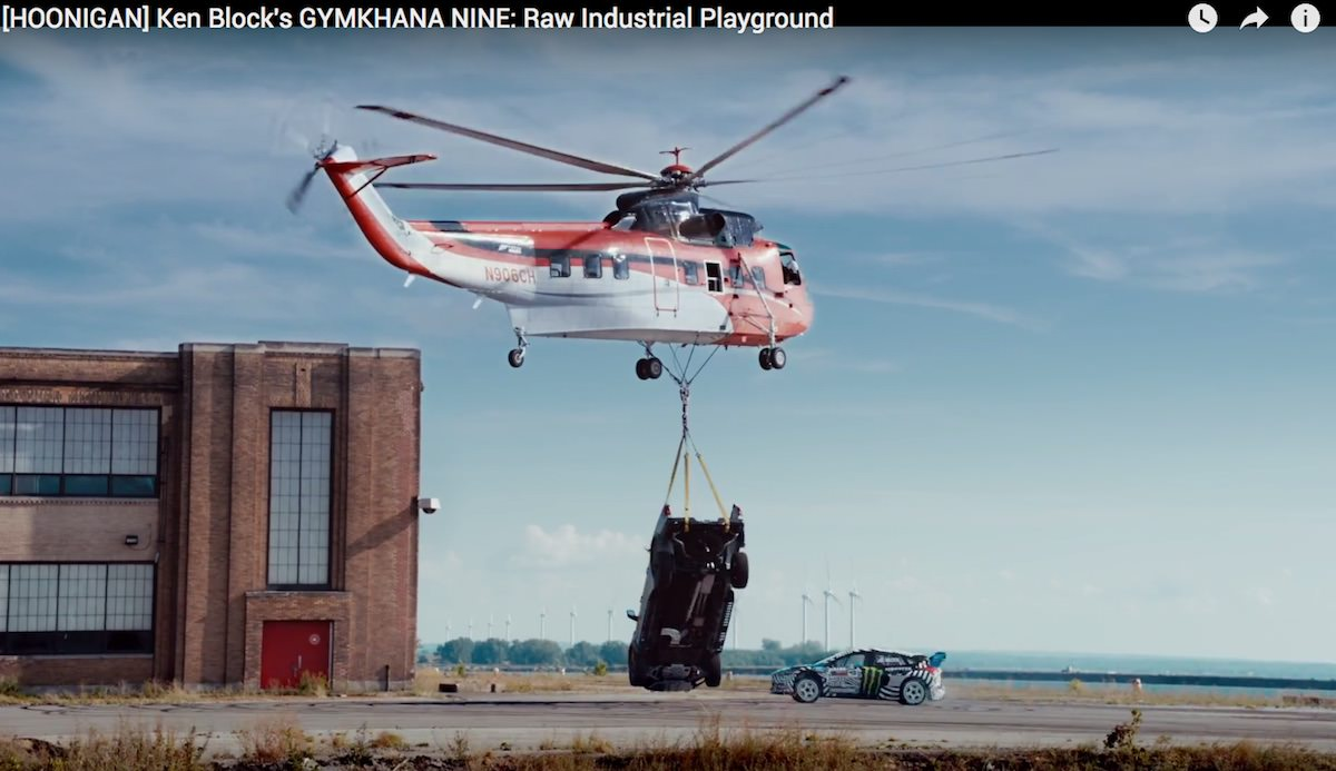 Gymkhana 9 / Ken Block / Raw Industrial Playground