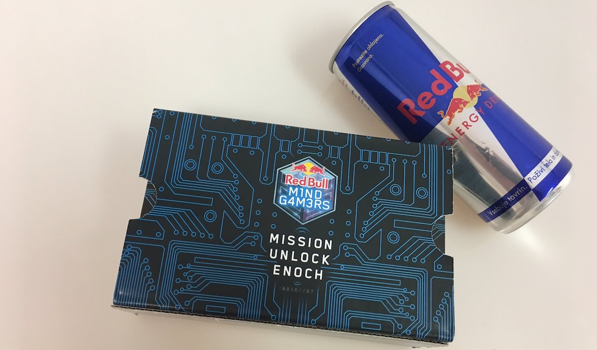 Red Bull Mind Gamers VR cardboard kit / Mission Unlock Enoch / kako ga uporabiti?