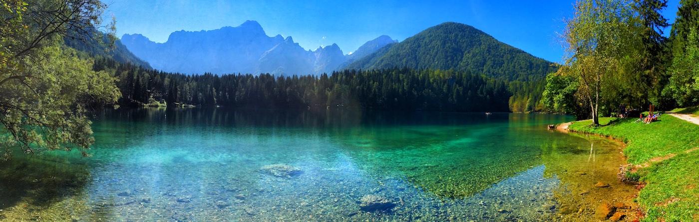 S kolesom od Kranjske gore do Belopeških jezer