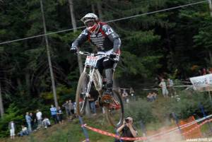 Mountain Bike World Championship Pohorje 2007 - Downhill Trening 22
