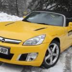 Opel GT na sneg na Areh gre 5