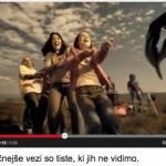 Carla Bruni s pesmijo Quelqu'un m'a dit v novem oglasu Mobitela
