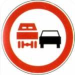 Kaj pomeni ta prometni znak? 1