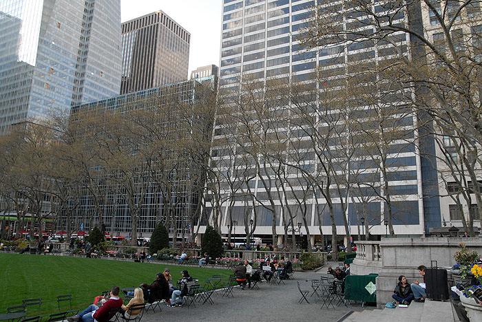 Bryant Park New York