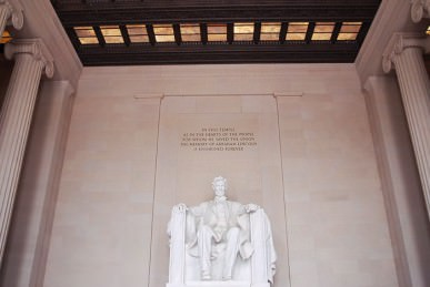 Lincoln memorial  Washington photos 05