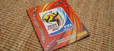 South Africa 2010 - Panini Stickers 01
