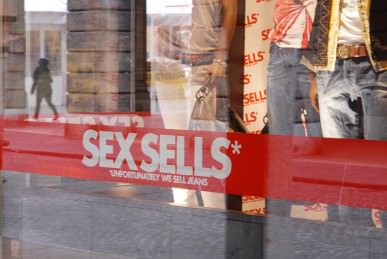 Sex sells - Unfortunately we sell jeans - Diesel 01