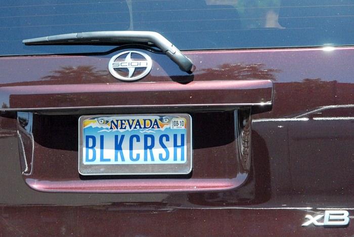 Las Vegas registrske tablice 05