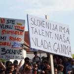 studentske demonstracije v ljubljani 09 150x150 Študentske demonstracije v Ljubljani so se kot bumerang vrnile organizatorjem