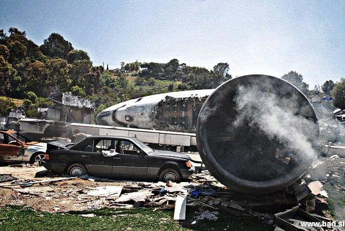Fotografije letalske nesrece 01