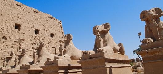 Tempelj Karnak fotografije 004