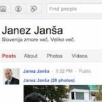 Janez Janša me je dodal v svoj krog na Google+