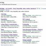Posodobljeni Google Sitelinks