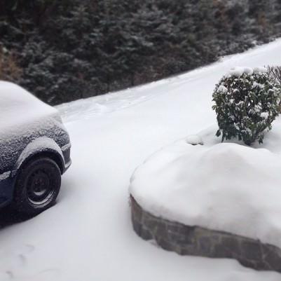 Sneg in Instagram fotografije