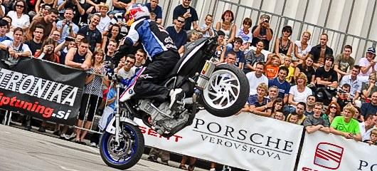 Auto Motor Show Ljubljana - Chris Pfeiffer stunt show