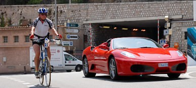 Ferrari F355 Spider in F360 Modena - tour and drive in Monte Carlo 11