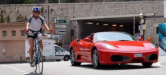 Ferrari F355 Spider in F360 Modena - tour and drive in Monte Carlo 11