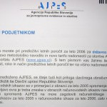AJPES- Agencija Republike Slovenije za javnopravne evidence in storitve 1