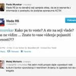 Twitter Vlada RS, zanjo tvita Darijan Košir – vendar na zelo neprofesionalen način!