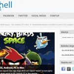 Angry Birds Space, Pinterest, Gone Wishing, Twitter, Facebook – digital hell