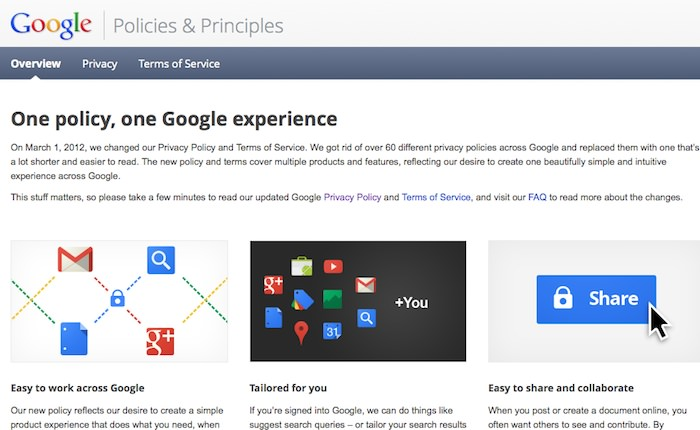 google privacy policy Prenovljena Google politika zasebnosti in moji odgovori za Finance