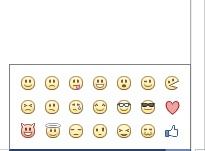 emoticonsFacebook